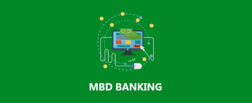 Онлайн банкинг MBD Banking